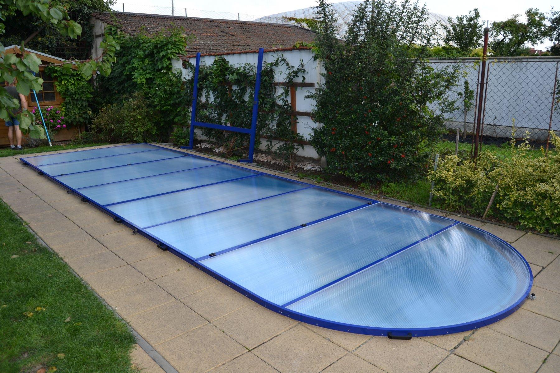 Zastřešení bazénu svépomocí